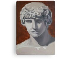oil painting of Antinous Canvas Print