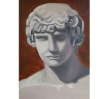 oil painting of Antinous Photographic Print