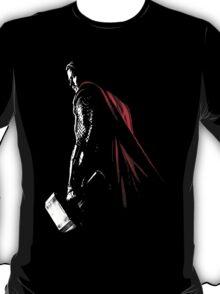 The Avengers - Thor Minimal Black  T-Shirt