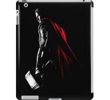The Avengers - Thor Minimal Black  iPad Case/Skin