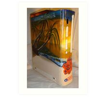 XBOX 360 PUERTORICO BEACH 1 Art Print