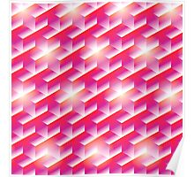 The Magenta Hex  Poster
