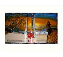 XBOX 360 PUERTORICO BEACH 2 Art Print