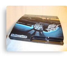 "PS3 ""MIDNIGHT CLUB"" 1 Canvas Print"