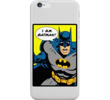 Batman - I Am Batman DC Comic iPhone Case/Skin