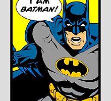 Batman - I Am Batman DC Comic by emapremo