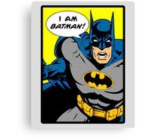 Batman - I Am Batman DC Comic Canvas Print