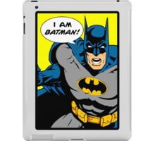 Batman - I Am Batman DC Comic iPad Case/Skin