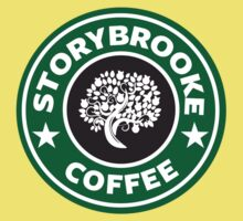 storybrooke coffee Kids Clothes