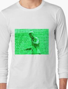 Billy Fury Statue. Long Sleeve T-Shirt