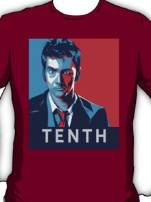 Doctor Who - Vote for Tennant T-Shirt