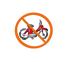No moped geek funny nerd Photographic Print
