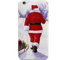 Santa's back! iPhone Case/Skin