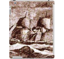 The Arctic Yacht Pandora, Arctic expeditions of 1875-6  iPad Case/Skin