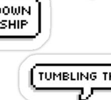 Tumblr/Fan(boy/girl) Sticker Pack Sticker