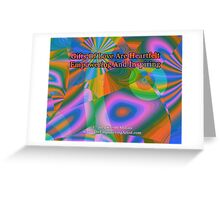 Gifts Of Love Are Heartfelt Greeting Card