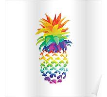 Pineapple Design. Poster