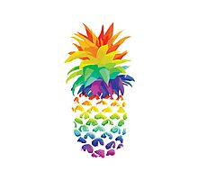 Pineapple Design. Photographic Print