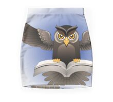 Brown Owl fly with the book Pencil Skirt