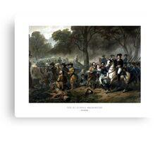 Life Of George Washington -- The Soldier Canvas Print