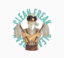 Levi button - Clean Freak Unisex T-Shirt