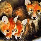 The Three Muskateers by Angela  Burman