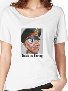 This Is The Enemy -- WWII Women's Relaxed Fit T-Shirt