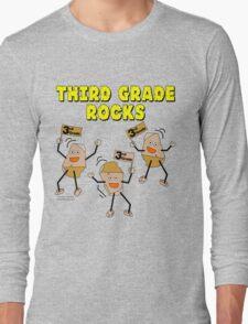 Third Grade Rocks Long Sleeve T-Shirt