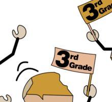Third Grade Rocks Sticker
