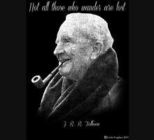Tolkien Text Portriat Unisex T-Shirt