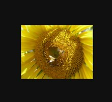 Sunflower & Bees Womens Fitted T-Shirt