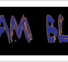 Team Blue Sticker