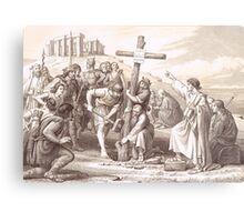 Augustine brings Christianity to England, Kent 597 Metal Print