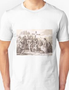 Augustine brings Christianity to England, Kent 597 T-Shirt