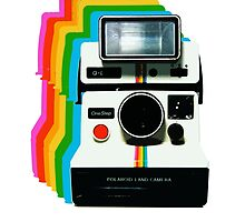 Polaroid Instant Rainbow by redcow