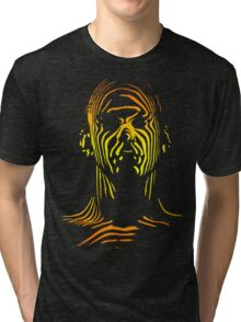 13th Floor Elevators Outline Man Tri-blend T-Shirt