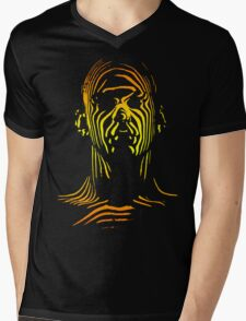 13th Floor Elevators Outline Man Mens V-Neck T-Shirt