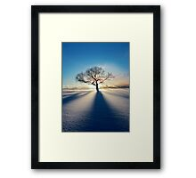 Treeclipse Framed Print
