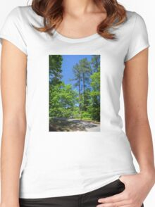 Carolina Blue Skies Women's Fitted Scoop T-Shirt