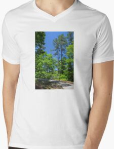 Carolina Blue Skies Mens V-Neck T-Shirt