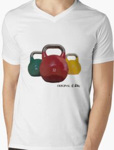 Original Kettlebells Tee Mens V-Neck T-Shirt