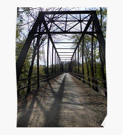 ~ One Lane Bridge ~ Osage County, Missouri ~ Poster