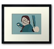 Turn Your Weapons to the Capitol Framed Print
