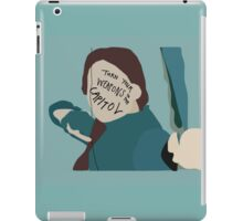 Turn Your Weapons to the Capitol iPad Case/Skin