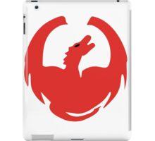 The Great Red Dragon iPad Case/Skin