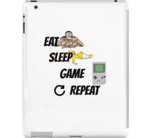 EAT/ SLEEP/ GAME/ REPEAT iPad Case/Skin