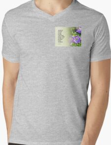 Serenity Prayer Bell Flowers T-Shirt