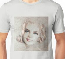 Blue Eyes Blond Crep Unisex T-Shirt