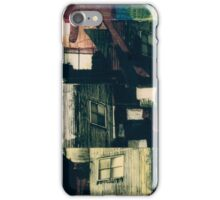 Industrial Grunge Mixed Media Collage 21 iPhone Case/Skin