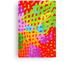 Abstract Watercolor Painting Canvas Print